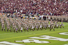 Texas Aggie Marching Band Stock Photo