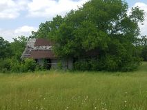 Texas Barn anziano fotografie stock