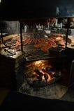 Texas BBQ-kött arkivbild