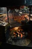 Texas BBQ-kött arkivbilder