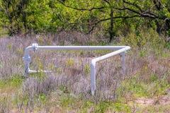 Texas - bransch och jordbruk Arkivbilder