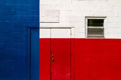 Texas Building Flag. The back of a building in downtown LaGrange, Texas painted like the Texas flag. I am sure it was just a matter of time until they added the stock image