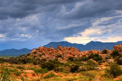 Texas Canyon Stock Photography