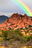 Texas Canyon Rainbow Royalty Free Stock Photo