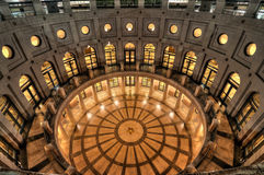 Texas Capital Rotunda photographie stock