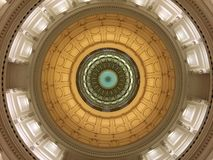 Texas Capitol Rotunda Dome Royalty Free Stock Photo