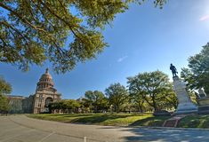 Texas Capitol. Texas State Capitol in Austin, TX Royalty Free Stock Photos