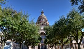 Texas Capitol. Texas State Capitol in Austin, TX Royalty Free Stock Images