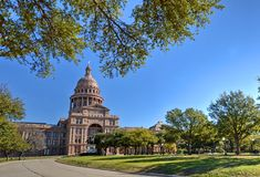 Texas Capitol. Texas State Capitol in Austin, TX Stock Photo