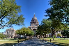 Texas Capitol. Texas State Capitol in Austin, TX Stock Photos