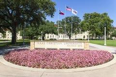 Texas Christian University lizenzfreie stockbilder
