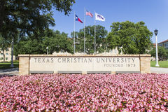 Texas Christian University Royalty Free Stock Photos