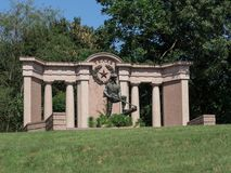 Texas Civil War Monument Vicksburg Fotografía de archivo libre de regalías