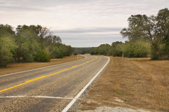 Texas Country Road Royalty Free Stock Image