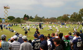 Texas Cowboys Training Stock Images