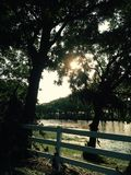 Texas Creek del oeste Imagen de archivo libre de regalías