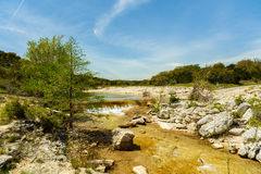 Texas Creek Road Royalty Free Stock Photography