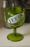 Texas drinking cup Royalty Free Stock Photos