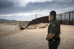 Texas - El Paso - gränsen royaltyfri fotografi