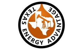 Texas Energy Advantage Oil Mining. Logo Design Template Vector vector illustration
