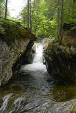 Texas Falls, Vermont, de V.S. Royalty-vrije Stock Foto's