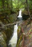 Texas Falls, Vermont, de V.S. Stock Afbeelding