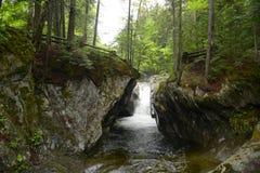 Texas Falls, Vermont, USA Royalty Free Stock Photo