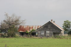 Texas Farm House Arkivbilder