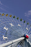 Texas Ferriswheel. Ferris wheel at the Texas State Fair in Dallas TX Stock Photo