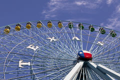 Texas Ferriswheel. Ferris wheel at the Texas State Fair in Dallas TX Stock Photography