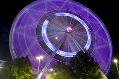 Texas Ferriswheel (natt) Royaltyfria Bilder