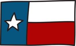 Texas Flag Imagens de Stock Royalty Free