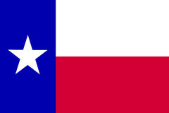 Texas Flag Royalty Free Stock Image