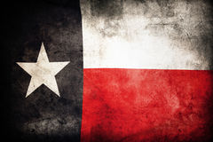 Texas flag. Closeup of grunge Texas flag royalty free stock images