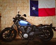 Texas Flag-de fietsen 2016 van de yamahabout stock fotografie