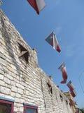 Texas Flair. Original image of a building in Austin Texas Stock Photos