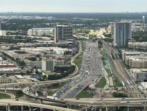Texas Freeway royaltyfria foton