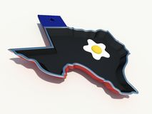 Texas frying pan Royalty Free Stock Photography