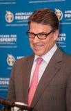 Texas Gov Rick Perry fala em Manchester, New Hampshire, EUA Foto de Stock