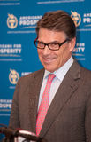 Texas Gov. Rick Perry speaks in Manchester, New Hampshire, USA Stock Photo
