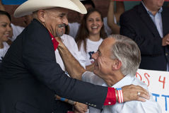 Texas Governor Race Stockbild