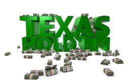 Texas halten sie an Lizenzfreie Stockbilder