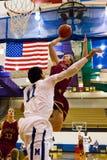 Texas High School Basketball Imágenes de archivo libres de regalías