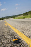 Texas hill country highway Royalty Free Stock Images