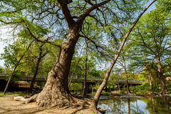 Texas Hill Country. The natural beauty of the Texas Hill Country in the small town of Wimberley Royalty Free Stock Images