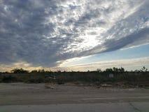Texas himmel Royaltyfri Bild