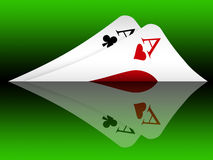 Texas hold'em (05) Royalty Free Stock Photo