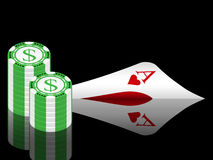 Texas hold'em (06) Stock Photos