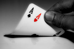 Texas Hold'em: American Airlines Royalty Free Stock Photography