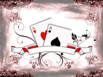 Texas hold'em poker Stock Images